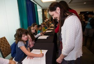 One Book Two Book 2017 young author book signing