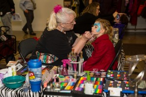 Facepainting with Funny Face Designs by Lori